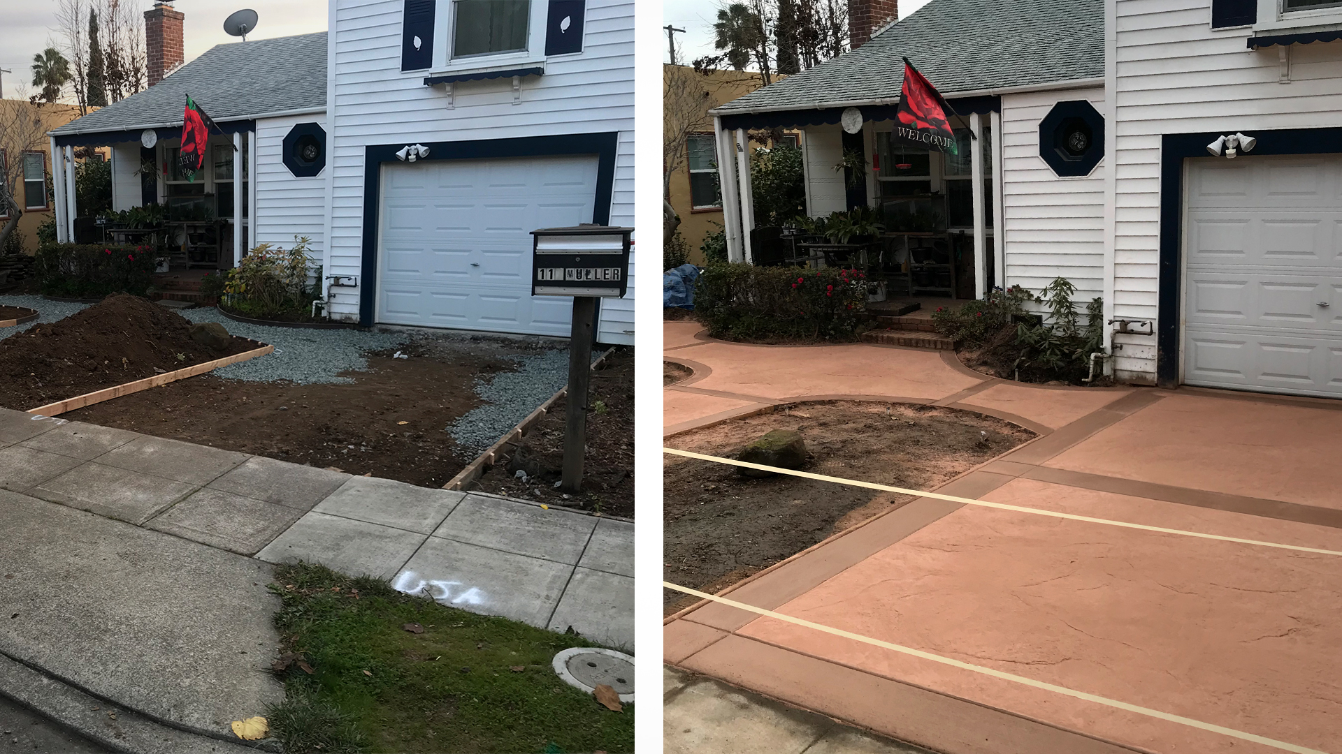 Before & After Residental